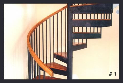 Maine Spiral Staircase | If You Climb It, We Can Build It